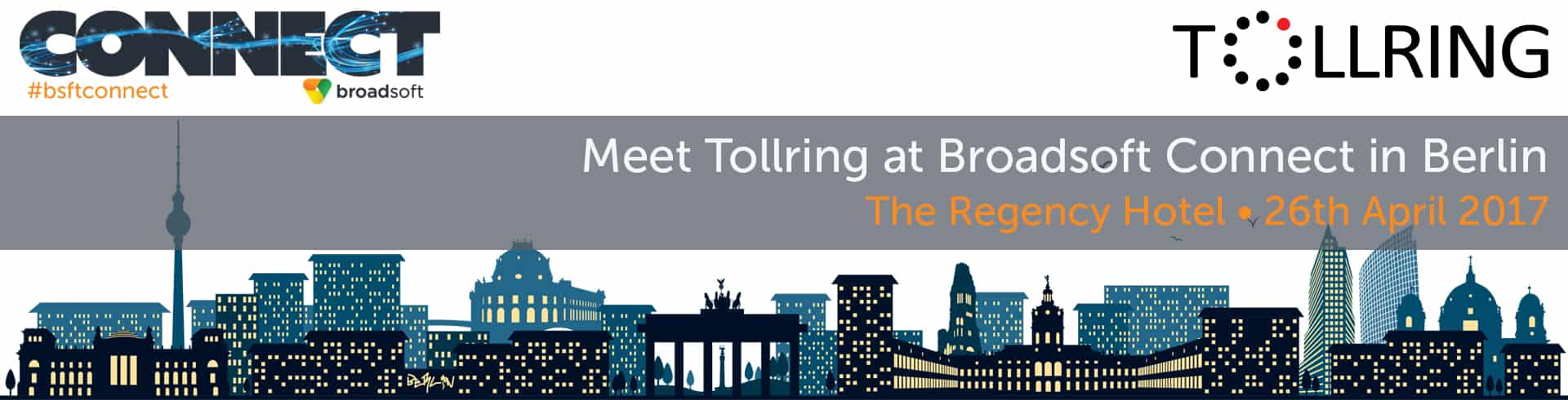 Meet Tollring at Broadsoft Connect in Berlin
