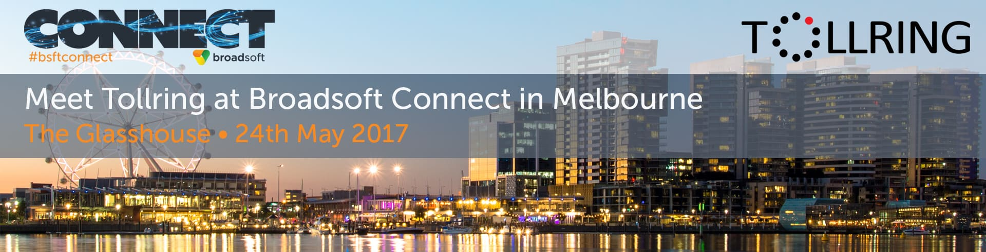 Join Tollring at Broadsoft Connect in Melbourne